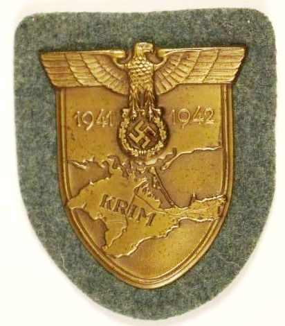 Distintivo de la Campaña de Crimea (Krim)